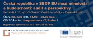 Česká republika v SBOP EU mezi minulostí _09_2014