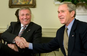 Bush Meets With Czech Prime Minister At White House