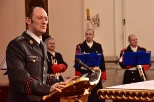 S kaplanem Hradní stráže o misi v Pobaltí